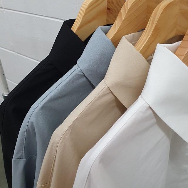 스트링 크롭셔츠 4 color
